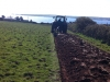 Ploughing commencing in preparation to plant our barley