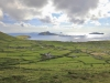 The view of the Blaskets where the lambs are grazing