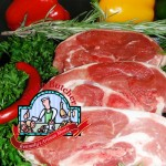 sideloin lamb chops by the Dingle Butcher